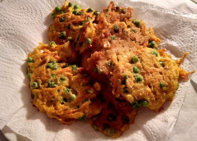 Jídelna: Zeleninové placičky