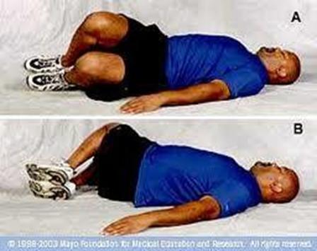 Tělák: Uvolnění zádového svalstva